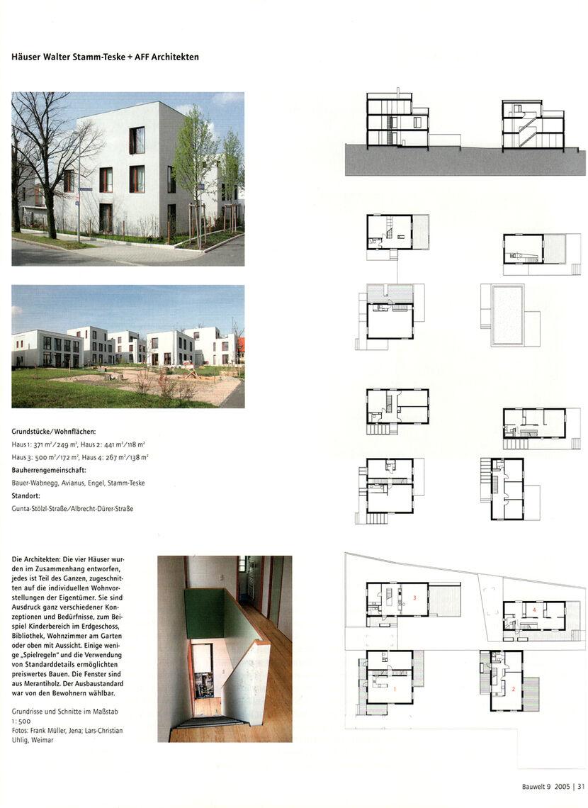 Aff neues bauen am horn ein wohnquartier in weimar for Neues bauen